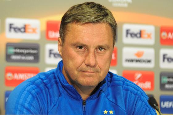 Олександр Хацкевич - Найкращим тренером третього туру Прем'єр-ліги України став наставник «Динамо»
