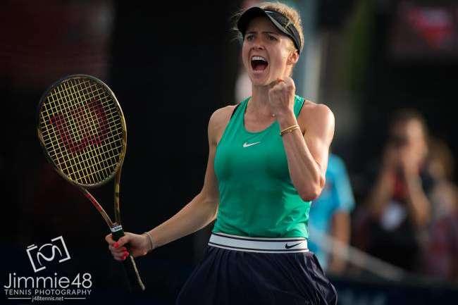 Еліна Світоліна - Еліна Світоліна вийшла у півфінал престижного турнірі у Монреалі (відео)