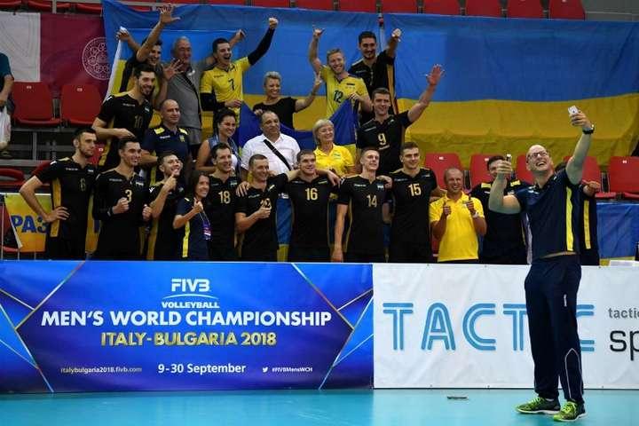 Фото: ФВУ - Чоловіча збірна України з волейболу вдруге поспіль перемогла Угорщину