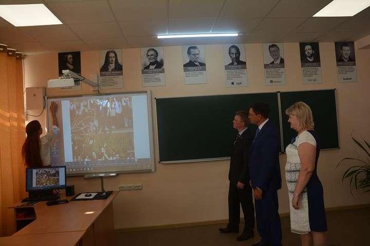 У Маріуполі відкрили першу опорну школу, на яку витратили 75 млн грн