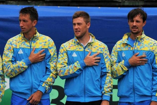 Збірна України оголосила склад на матч Кубку Девіса з Португалією