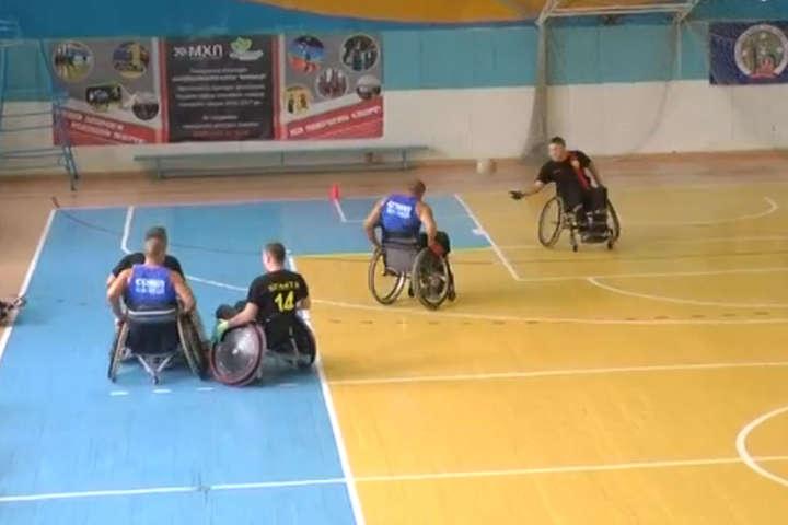 Вінниця прийняла відкритий чемпіонат з регбі на візках (відео)