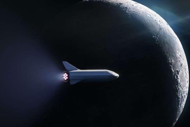 SpaceX анонсувала перший приватний пасажирський рейс навколо Місяця