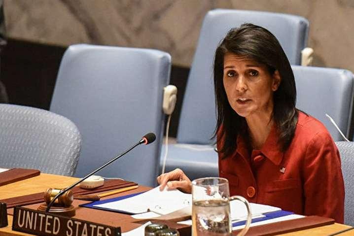 Посол США вООН Ніккі Гейлі подала у відставку
