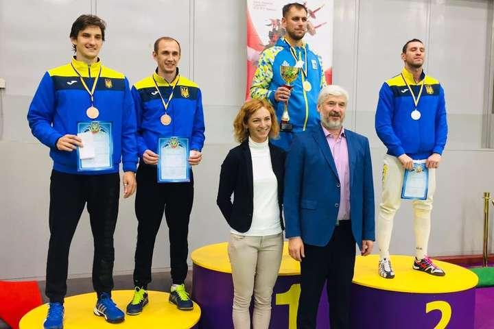 Рейзлін і Бежура виграли Кубок України з фехтування на шпагах