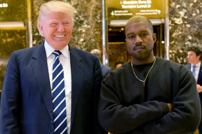 Репер Каньє Вест зізнався Трампу в любові: «дайте я обійму цього хлопц
