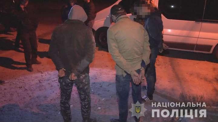 В Одесі поліція затримала групу вимагачів