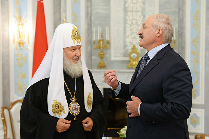 Лукашенко зустрівся з Кирилом та поговорив про «розкол православ'я»