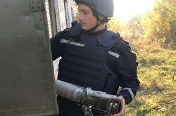 Фото: — Сапери знешкоджують снаряди на Чернігівщині