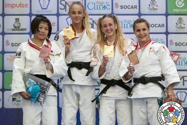 Українська дзюдоїстка Білодід стала чемпіонкою світу вусіх вікових категоріях