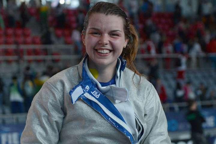 Аліна Комащук - Комащук виграла перший для себе всеукраїнський дорослий турнір з фехтування