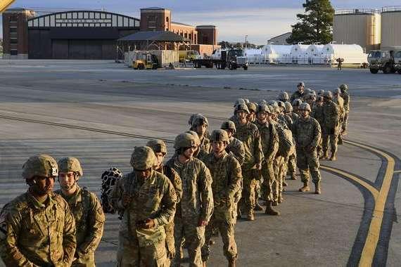 Американські військові — Трамп вже хоче відправити на кордон з Мексикою до 15 тисяч військових