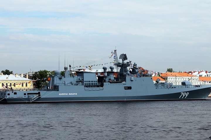 РФ направила новий фрегат Чорноморського флоту в Середземне море