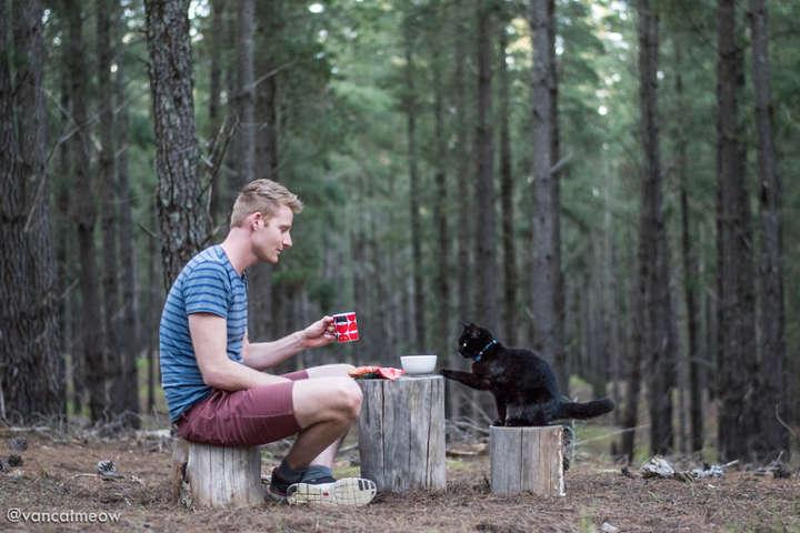 boredpanda.com - Австралиец продал дом и поехал путешествовать вместе с кошкой