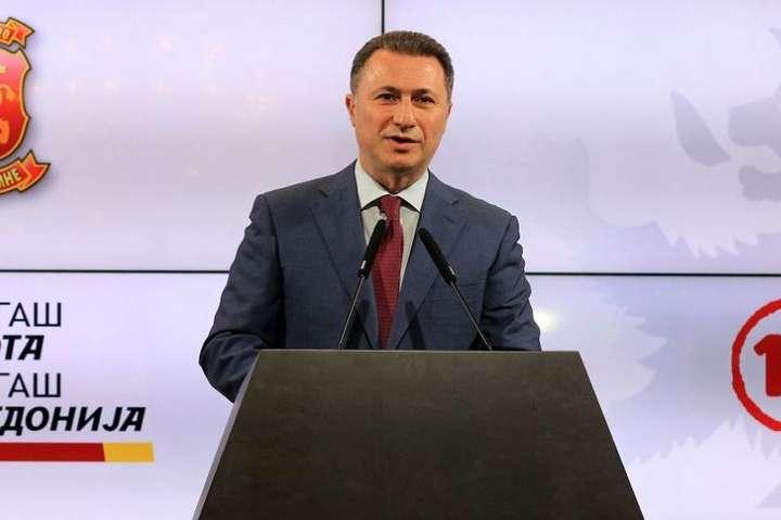 <span>Екс-прем'єр-міністр МакедоніїНікола Груєвскі</span> - Екс-прем'єр-міністра Македонії ув'язнять на два роки