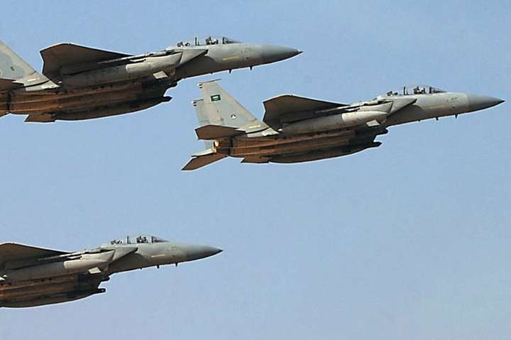 <span>Бойовик літак ВПС Саудівської Аравії</span> - Саудівська Аравія залишилась без підтримки США у війні в Ємені