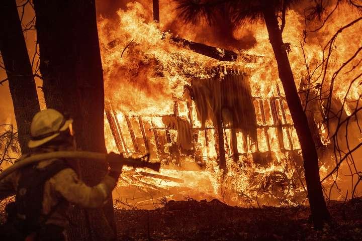 ДональдТрамп звинуватив лісників у каліфорнійських пожежах - Трамп знайшов «винних» у масштабних пожежах у Каліфорнії