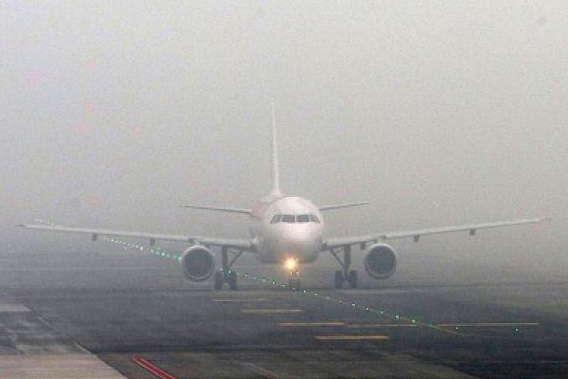 В аеропорту «Київ» через туман скасували кілька рейсів - В аеропорту «Київ» через туман скасували кілька рейсів