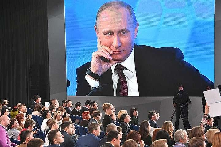Путін збирається провести щорічну прес-конференцію