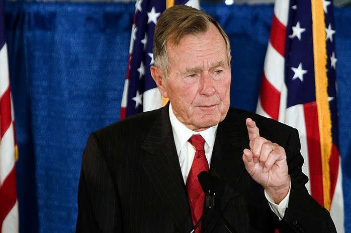 Стало відомо, де і коли поховають Джорджа Буша-старшого