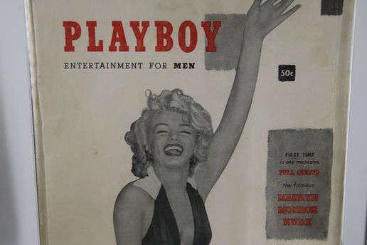 На аукціоні в США продали перший випуск журналу Playboy
