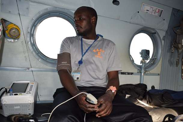<p>Миротворець після 16 діб у джунглях</p> - Українські військові врятували миротворця із джунглів Конго, де він прожив 16 діб