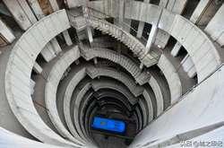 Фото: — На сьогодні експлуатуються тільки 3 нижніх з 8 поверхів будівлі