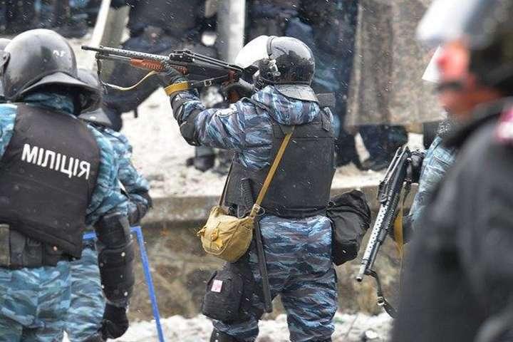 Озброєні силовики під час Революції гідності - Луценко: ГПУ завершила експертизу в справі щодо розстрілів на Євромайдані