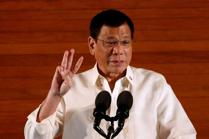 Президент Філіппін Родріго Дутерте - Воєнний стан на півдні Філіппін триватиме ще рік