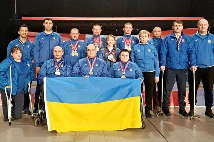 Паралімпійська збірна України з кульової стрільби тріумфувала на чемпіонаті Європи