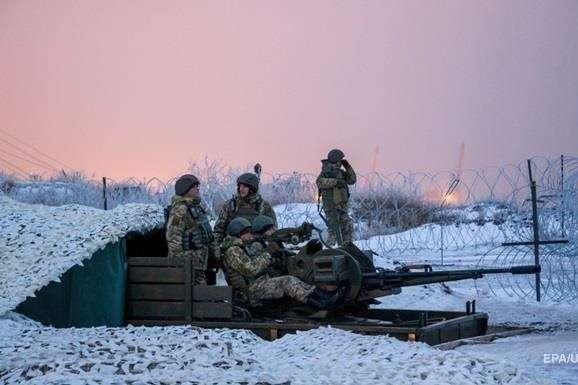 Українські бійці контролюють ситуацію на Донбасі - Із початку доби на Донбасі зберігається тиша