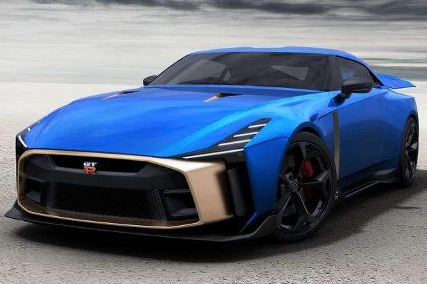 990 тысяч евро замашину: Nissan представил серийную версию суперкара GT-R50