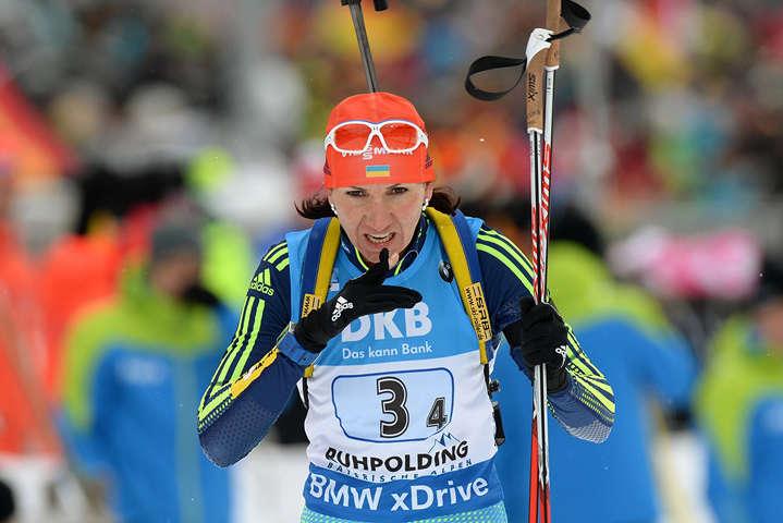 Олена Підгрушна - Підгрушна фінішувала сьомою в спринтерській гонці на етапі Кубку світу у Поклюці