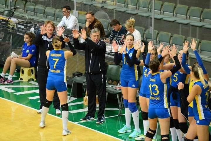 <p>«Орбіта»-ЗНУ-ОДЮСШ</p> - Запорізька «Орбіта» вилетіла з волейбольного Кубку Виклику