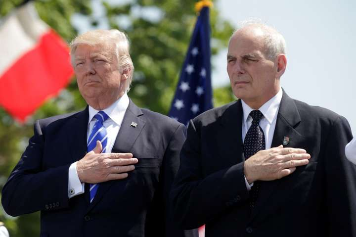 Дональд Трамп такерівник апарату президентської адміністрації Джон Келлі - Трамп анонсував звільнення керівника апарату Білого дому