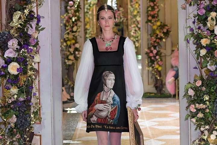 60fe166b3bed В миланском Palazzo Litta состоялось шоу Dolce   Gabbana - Главком