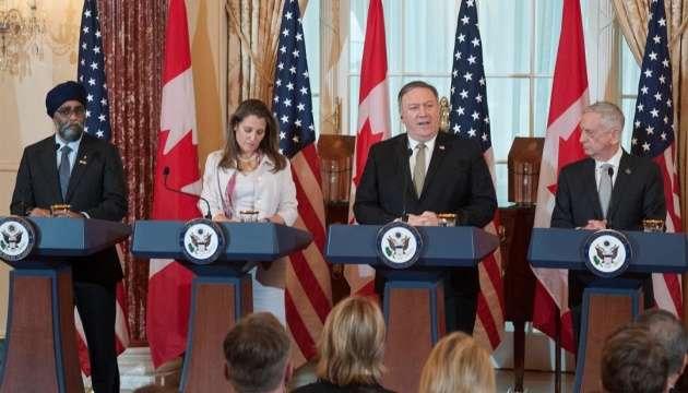 США та Канада обговорили агресію Росії на Азові