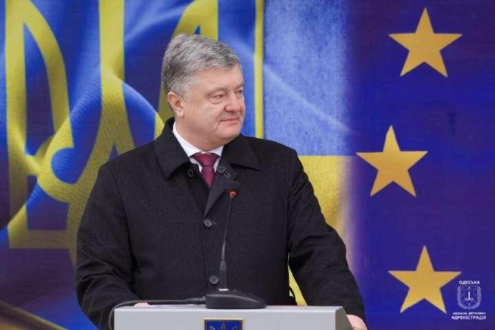 Глава держави розповів прозобов'язання перед ЄС - Президент відкрив на Одещині пункт пропуску «Паланка-Маяки-Удобне» (фото)