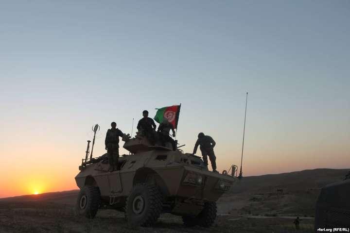 <span>Військова операція в провінції Сар-е-Пул</span> — В Афганістані загинули десятки бійців урядових військ через атаки талібів