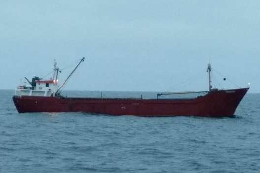 Катер ВМСУ відкривав вогонь уЧорному морі для зупинки танзанійського судна