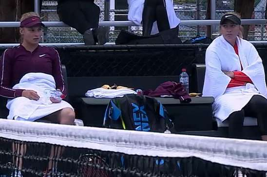 <span>Даяна Ястремська та Анастасія Потапова</span> - Ястремська не змогла пробитися у парний фінал на турнірі серії WTA в Гобарті