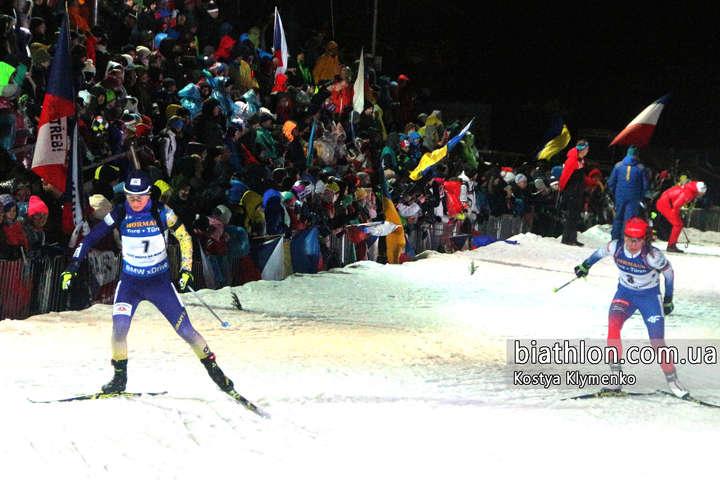 Віта Семеренко випередила сестру у загальному заліку Кубку світу
