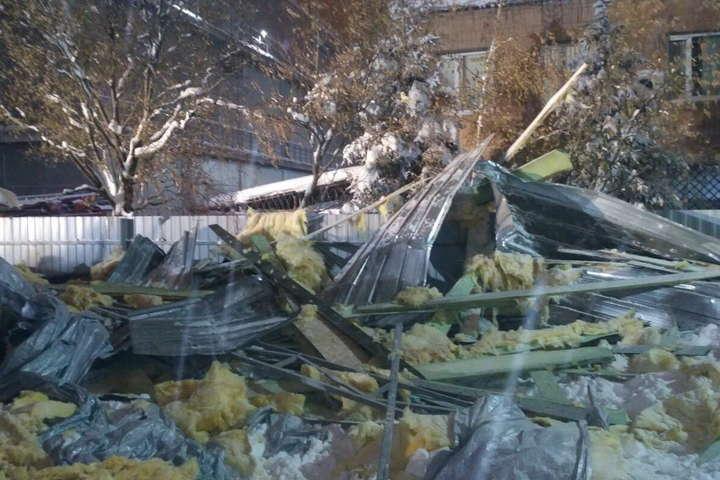 Ввечері 11 січняу Харкові обвалився дах торгового павільйону — Прокуратура проводить розслідування через обвал торгового павільйону в Харкові