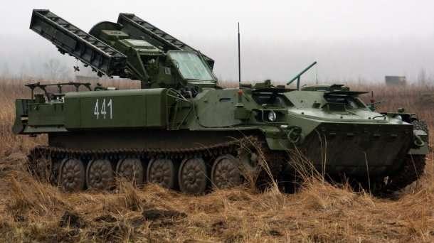 Місія ОБСЄ зафіксувала в Донецьку російський ракетний комплекс «Стріла»