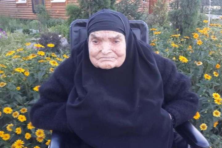 <p>Марія Мороз померла у віці 107 років</p> — Померла найстарша монахиня в Україні