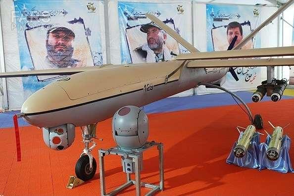БПЛА Shahed-129 має радіус в 1240 миль при одній дозаправці — В Ірані триває виставка зброї на честь 40-річчя Ісламської революції