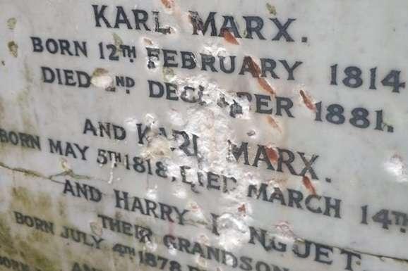 Зловмисники 5 лютого побили меморіальну плиту на могилі Карла Маркса — Вандали у Лондоні потрощили могилу Карла Маркса