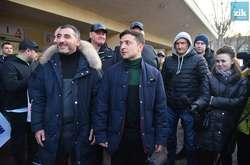 Фото: — У Зеленського акцію у Львові назвали провокацією
