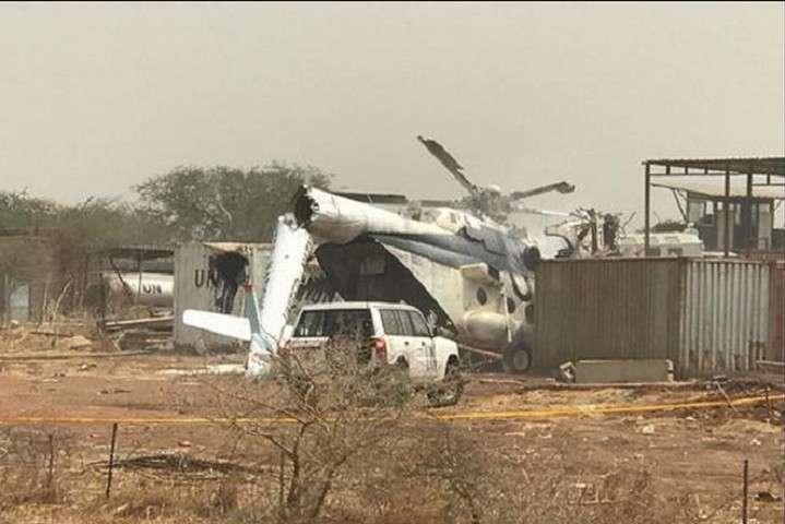 Точная причина аварии пока неизвестна - В Судане разбился военный вертолет с 23 пассажирами на борту