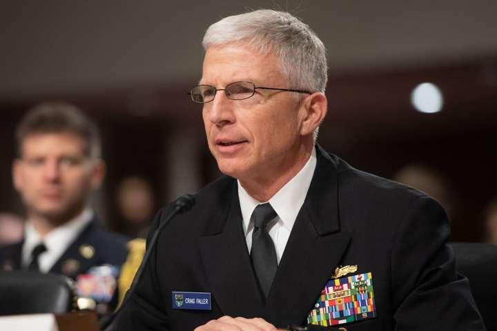 Адмірал ВМС США Крейг Фоллер